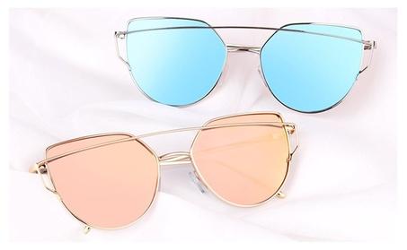 Cat Eye Sunglasses 2017 Women Vintage Fashion Mirror Glasses 2b9daa7d-7485-4b7d-a1ba-13377e5cc24c