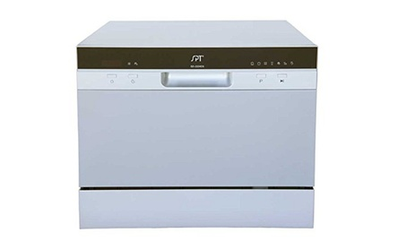 Sunpentown SD-2224DS Countertop Dishwasher with Delay Start in Silver photo