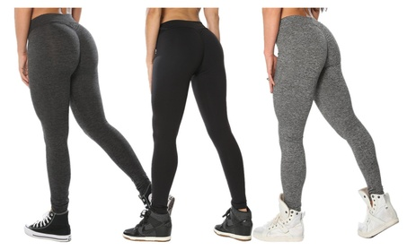 Women's High Waist Tights Workout Stretch Yoga Pants Leggings 496771fe-bc8f-4480-a6f0-a82f5ce9df06