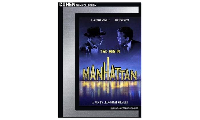 manhattan dvd  Two Men In Manhattan (DVD) | Groupon