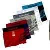 Mens Stars Seamless Boxer Brief 6 Piece Color Variety Set