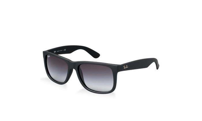 b137fa7625 ... Ray Ban RB4165 Justin Sunglasses -601 8G Rubber Black-55mm
