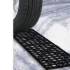 Stalwart Car Tire Snow Grabber Mats - Set of 2