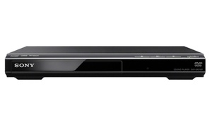 Sony Progressive Scan CD and DVD Player in Black