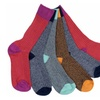 6 Pairs of Mens Sockbin Colorful Thick Warm Winter Boot Socks