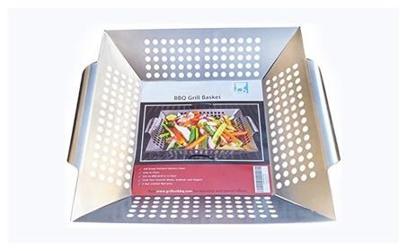 Stainless Steel Vegetable Grill Basket ec01790c-89b9-4414-a1fe-99890037b632