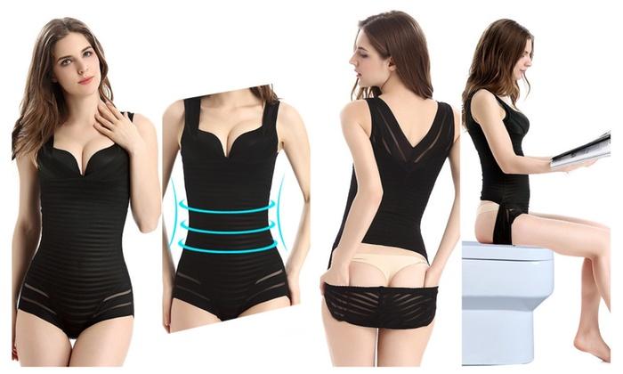 Body Shaper BraLift Tummy Slim(Corset Bodysuit Building Underwear (4)