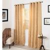 "Cassia Jacquard Curtain Panel Set - 84"""