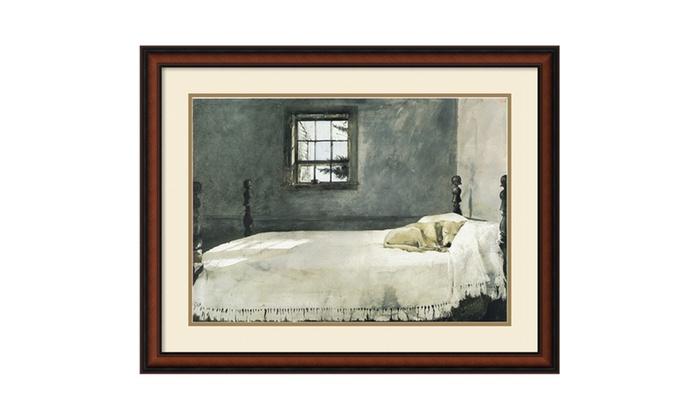 Andrew Wyeth 39 Master Bedroom 39 Framed Art Print 33x26 In Groupon