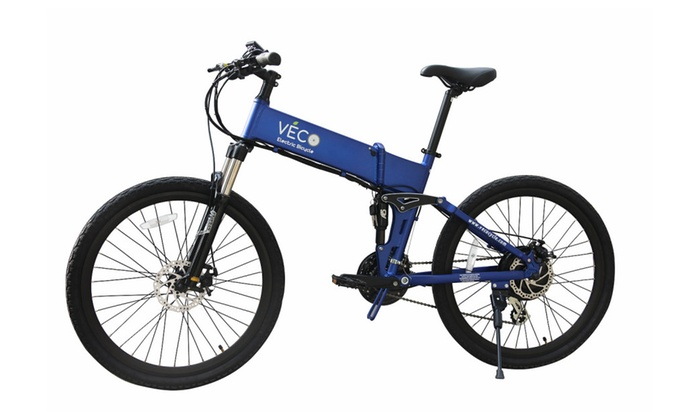 Trail Mountain Electric Bicycle - VECO Electric Bicycle
