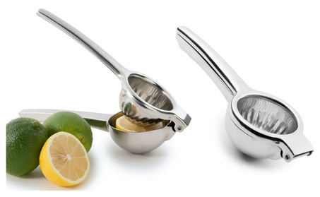 New Theeasylifes Small Kitchen Appliances Steel Lemon Lime Squeezer photo