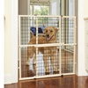 Extra Tall and Wide Wire Mesh Pet Gate