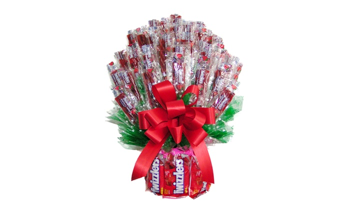 I ate my gift iamg all twizzler candy bouquet large