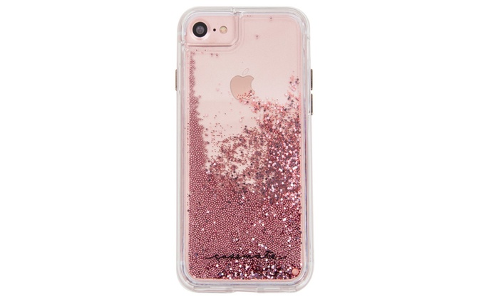 buy online 8261b fa5b3 Case-Mate Naked Tough Waterfall Rose Gold iPhone 7 Case