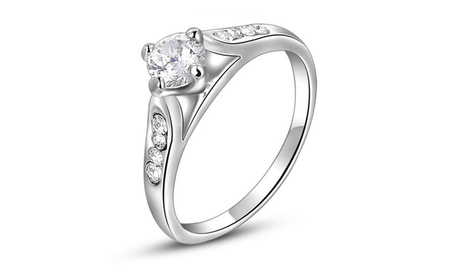 Princess Crystal Engagement Rings Jewelry Valentine's Day Gift 1c1107d1-69b5-4069-997a-7c0909dd89b9