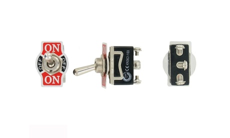 Toggle SWITCH ON/OFF/ON Heavy Duty 20A 125V SPDT 3 Terminal Car Waterproof BOOT 422b3046-4d0b-4fcc-9a4f-e46766c2c109
