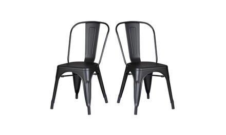 Metal Dining Room Kitchen Bar Chairs