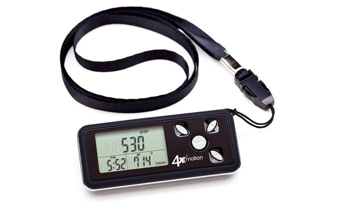 Ozeri 4x3motion Pocket Pedometer and Tri-Axis Activity Tracker