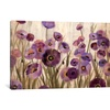 Pink and Purple Flowers  by Silvia Vassileva Canvas Print