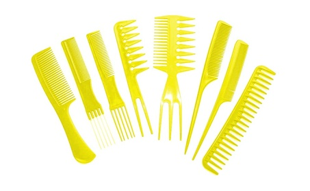 8 Piece Styling Comb Set Specially Designed For Ladies bdf7a9d7-3b78-4b94-9fa5-f237b2030376