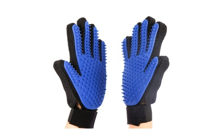 Pet Grooming Cleaning Magic Glove Hair For Dirt Remover Brush (1 Pair) 7028a2a7-66dc-4497-a751-6af8684feea1