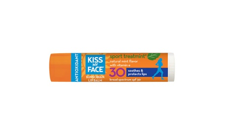 Kiss My Face Mint Sport Treatment Lip Balm bd80ef66-5415-42e4-b24b-0c49e0a2b2ab