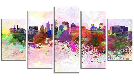 Up to 30 off on kansas city skyline cityscape for Craft stores in kansas city