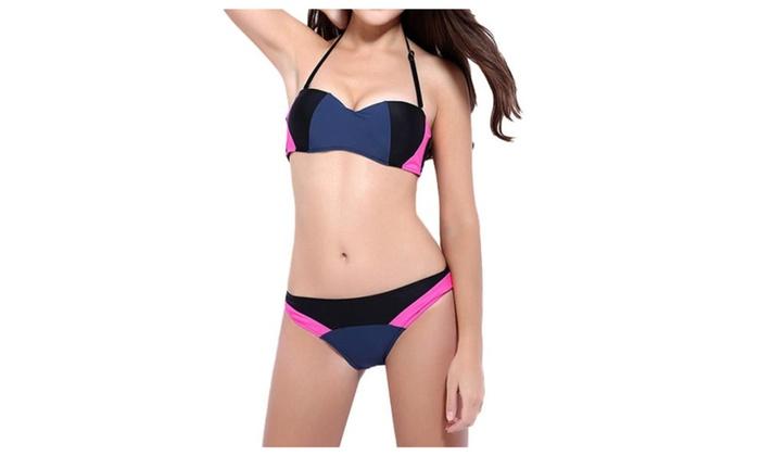 Women's Printed Beautiful Low-Rise Slim Fit Bikini Sets