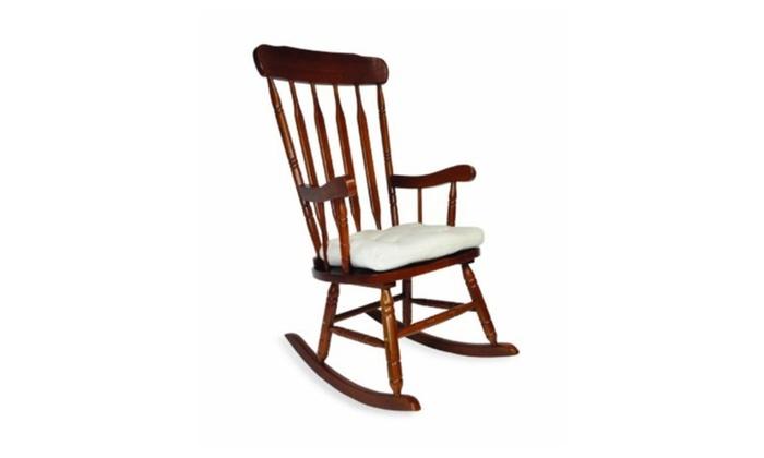 Shermag 277503CO.1037 Tobaggo Natural Rocker Chair Seat Cushion