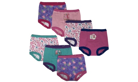 Licensed Girls Training Pants Briefs 7-Pack Peppa Pig Minnie Mouse Princess 0ab377f4-3eda-4962-8b22-a926c1e891dd
