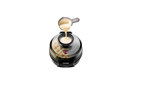 Waffle Maker, Patented No Overflow Perfect Pour Volcano Waffle Iron cd8f465f-4b3f-4509-9cd3-69d87503dc31