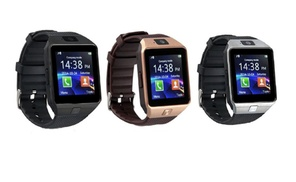 Smartwatch With Bluetooth and Camera for Samsung iPhone and Android at OSP, plus 6.0% Cash Back from Ebates.