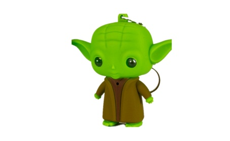 LED Lightsaber Grandmaster Yoda Action Figure Toys With Sound Keychain 7588a4b0-ae4c-4108-afde-bd56d965fb41