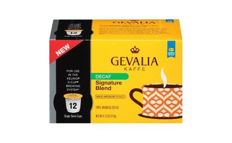 Gevalia Gevalia Decaf Signature Blend K Cups, 4.12 Oz (Pack of 6) 82b2207f-6cc9-4a84-b3bb-348e4f250d4b