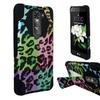Insten Leopard Hybrid Hard Plastic/silicone Case For Lg K7/ Tribute 5