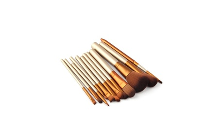 Makeup 12 Pcs Brushes Set Powder Foundation Eyeshadow Eyeliner Tool f2e56859-f190-4b85-9381-a8b221947c27