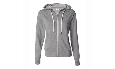 Ind. Trading Heather French Terry Zip Hoodie PRM90HTZ-2 d528f2c8-169b-47c6-b830-8a3f18ea472d
