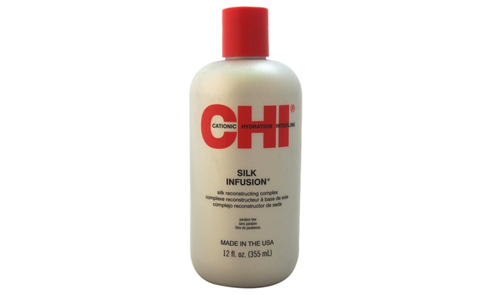 how to use chi silk infusion on natural hair