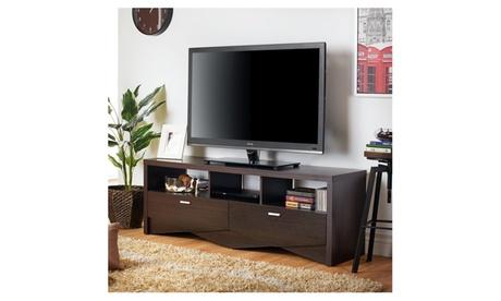 """Sivenza Espresso Multi Shelf 59"""" Media Stand 26cee184-a305-48fb-83c1-fbe1adba126f"""