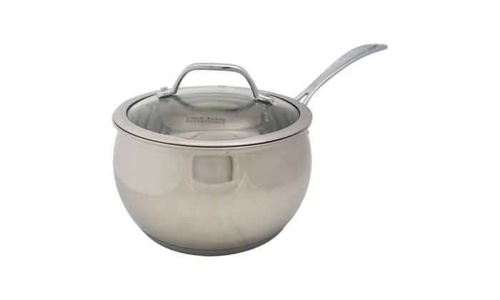David Burke Gourmet Pro Splendor 3qt Chef Sauce Pan Pot