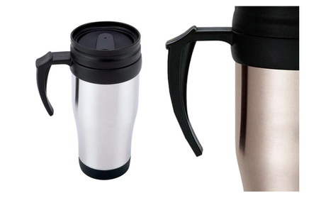 Portable Stainless Steel Liner Travel Mug Ideal For Travel 0090a447-49b4-4977-a65b-0f5c80b27a88
