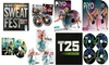 Insanity Max 30, Piyo, Cize, Focus T25 Bonus Workout Discs 12 Fitness Dvds Total
