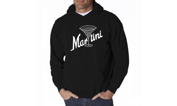 Men's Hooded Sweatshirt - Martini