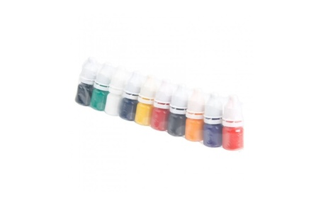 10 Colors 5ml Profession Eyebrow Tattoo Ink Set e27dc1ff-c73f-442a-afb2-0aca49e1f2db