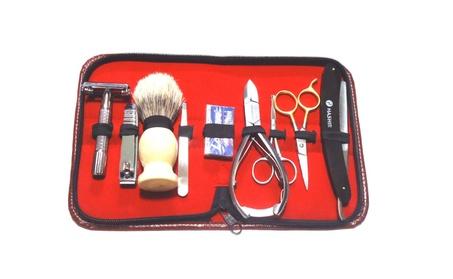 9PCS Professional Men's Personal Shaving Razors Scissors Set 83faa7e5-722e-405a-8c86-b0eed90a9510