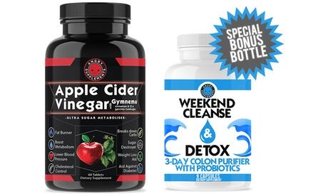 Apple Cider Vinegar Weight Loss with Bonus Weekend Cleanse & Detox