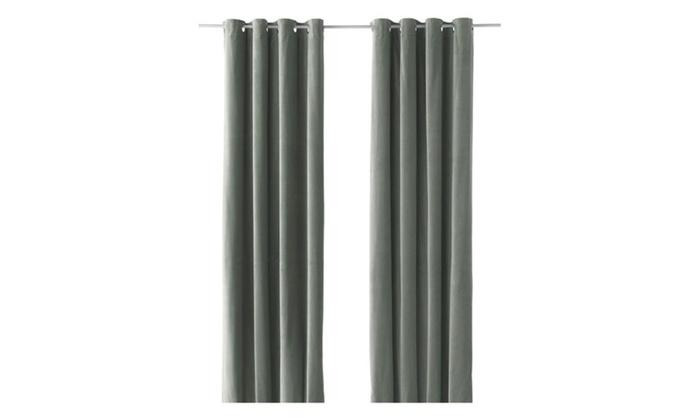 Energy Efficient Blackout Curtains Grommet Curtain Panel