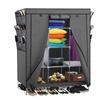 "69"" Portable Closet Storage Organizer Clothes Wardrobe Shoe Rack"