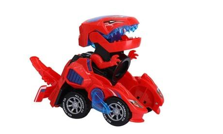 Transforming Dinosaur LED Car Toys