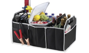 Car Trunk Organizer, Black, 3 Large Sections of Storage at Avenue A, plus 6.0% Cash Back from Ebates.